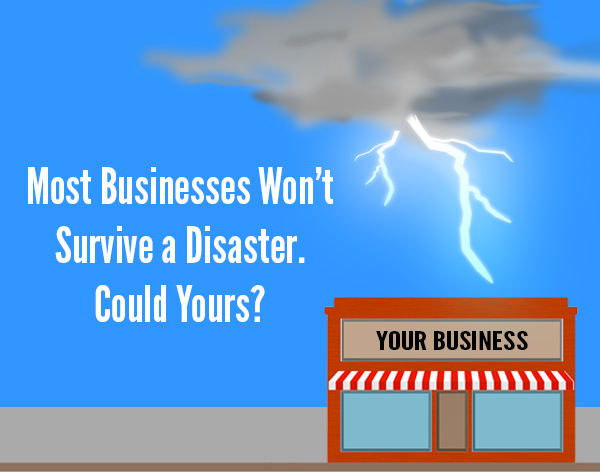 most businesses wont survive a disaster could yours