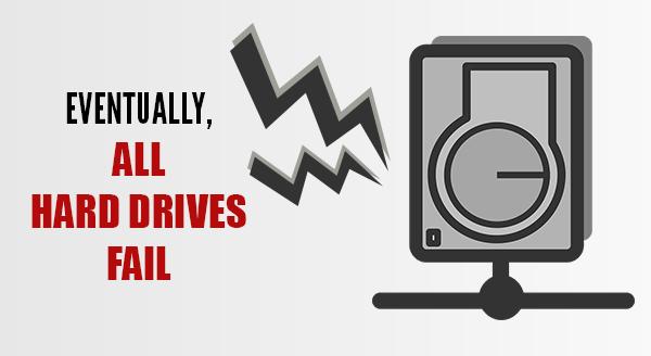 hard drive fail